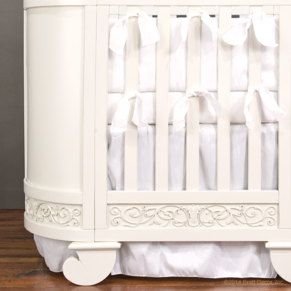 chelsea darling oval crib set