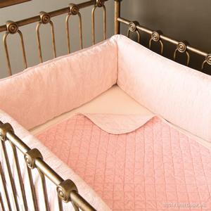 petal crib blanket