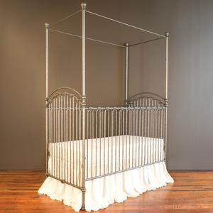 venetian crib pewter