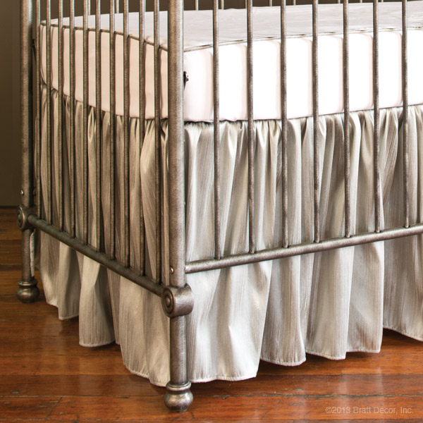 covington crib skirt