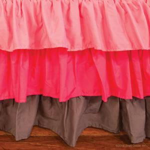 cosmopolitan crib skirt