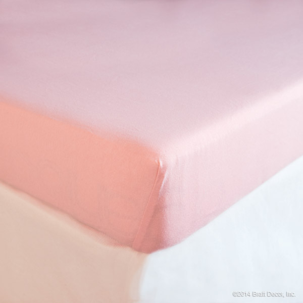 girl sheets cotton fitted notion