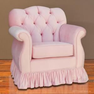 pink tufted glider