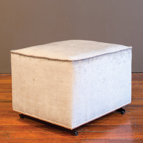 studded brilliance ottoman