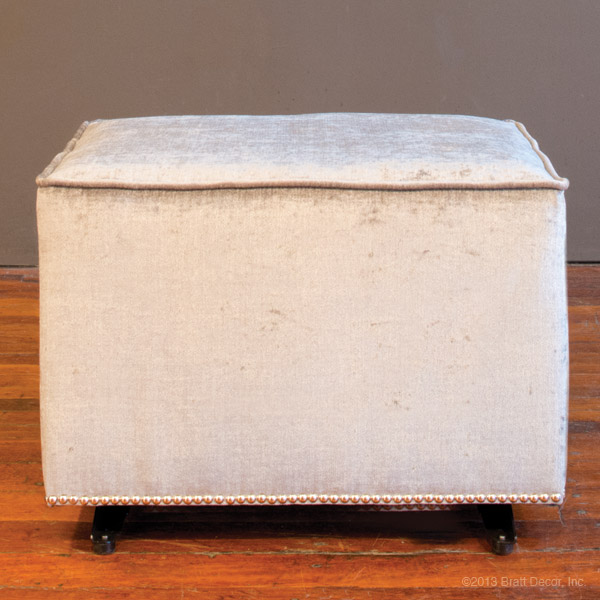 studded brilliance gilder and ottoman
