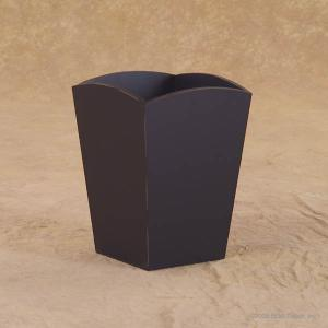 trash can solid black