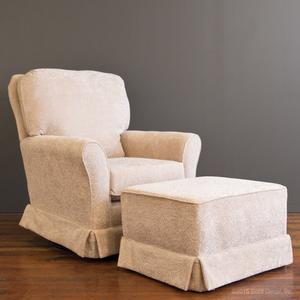 bliss glider and ottoman