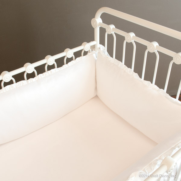 madison crib bumper