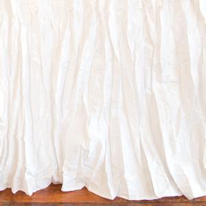 white crushed silk boy girl