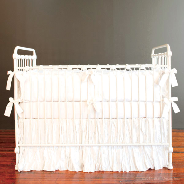 madison crib skirt