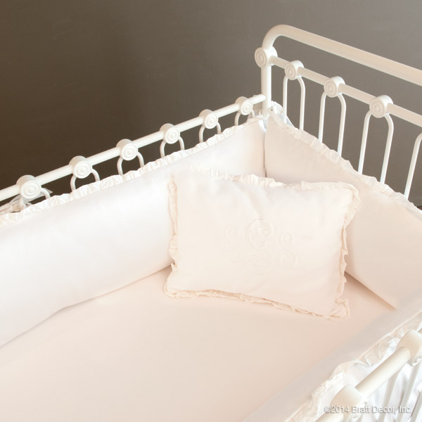madison 4 piece crib set