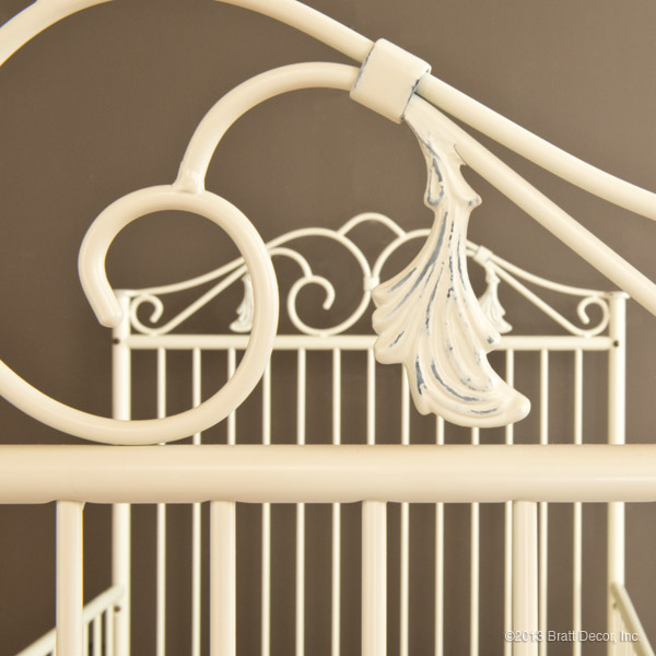casablanca toddler bed kit ant. white