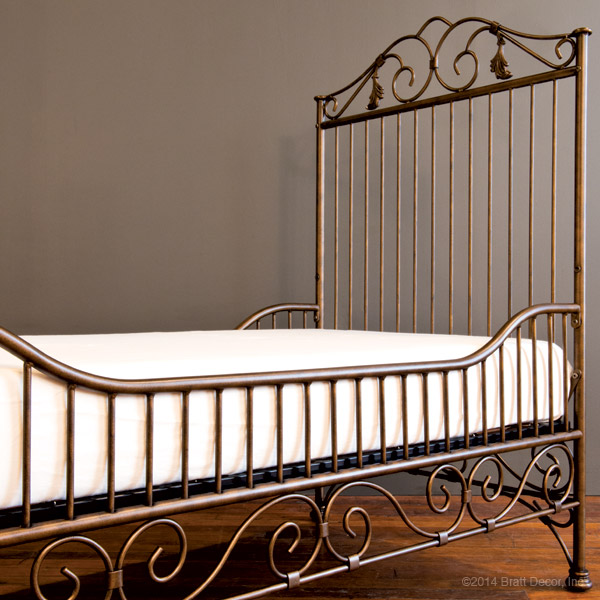 casablanca toddler bed kit gold