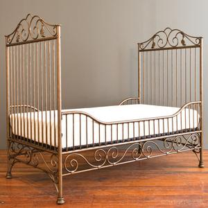 casablanca toddler bed kit vintage gold