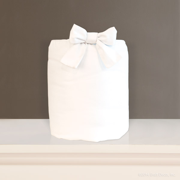 white sateen cotton boy girl
