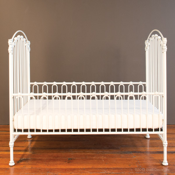 venetian toddler bed kit dist. white