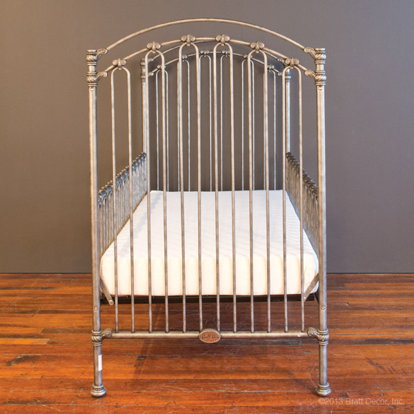 venetian toddler bed kit pewter