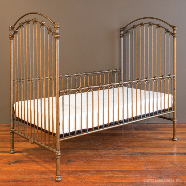 venetian toddler bed kit gold