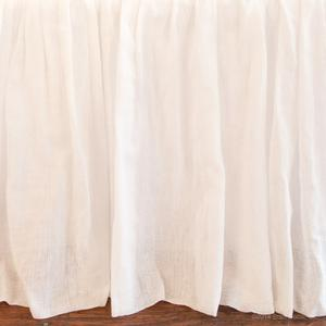 white sateen sheer cotton boy