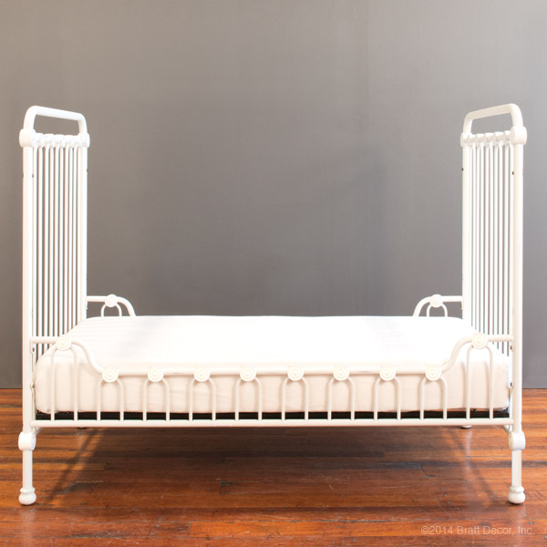 joy toddler bed kit satin white
