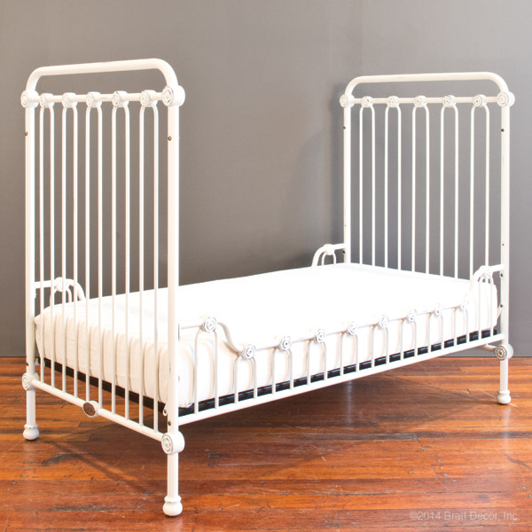 joy toddler bed kit distressed white