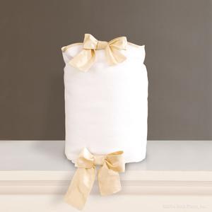 white pique ivory silk cotton