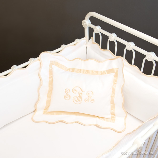 Decorative Pillows For Crib : kennedy decorative crib pillow