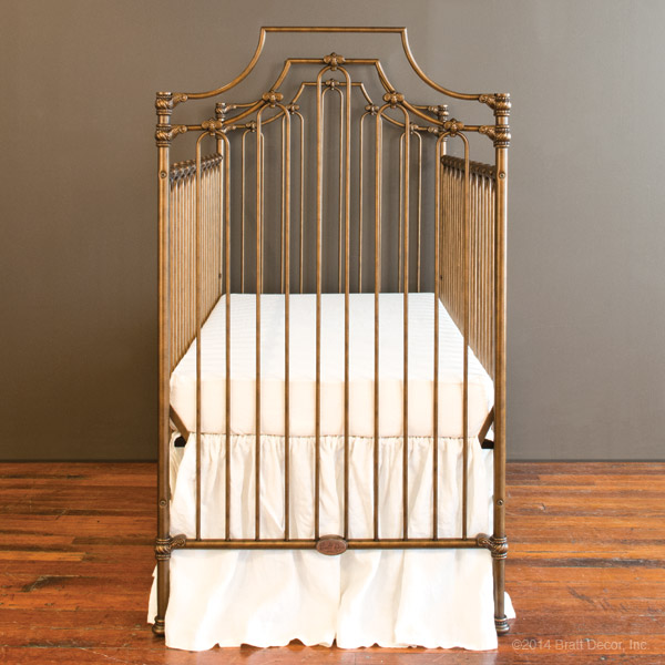 parisian 3 in 1 crib gold