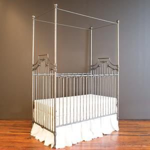 Parisian 3 In 1 Crib Pewter