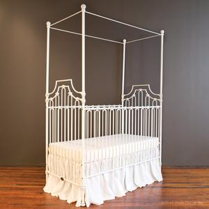 parisian 9 in 1 crib distressed white