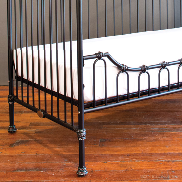 parisian daybed kit distressed black