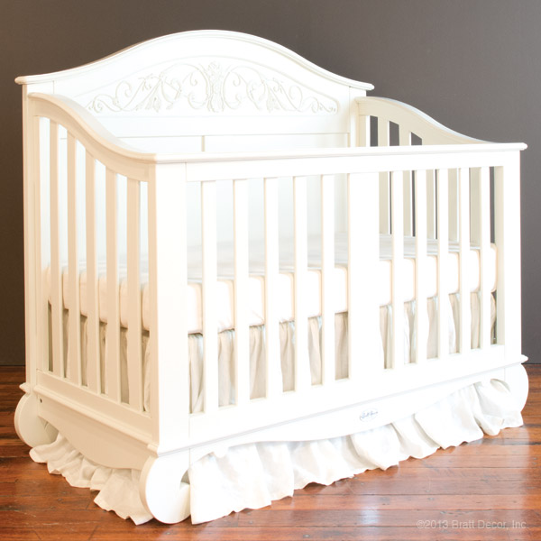 Chelsea lifetime crib white for Baby cribs decoration