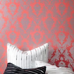 maiden wallpaper in coral