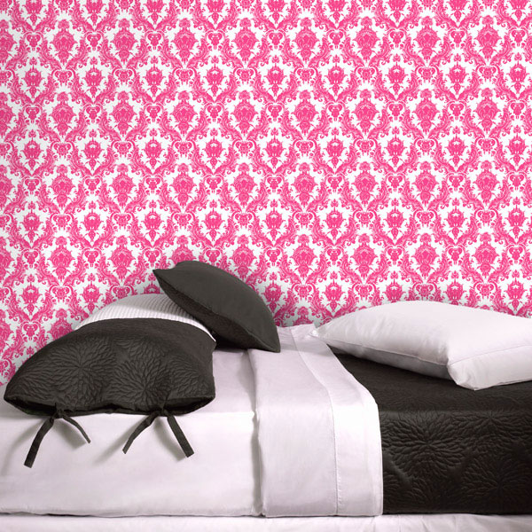maiden wallpaper in fushia