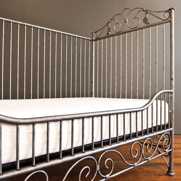 casablanca daybed kit pewter