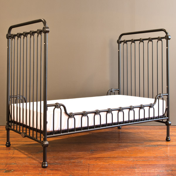 joy toddler bed kit distressed black