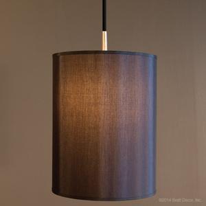black meridian pendant lamp