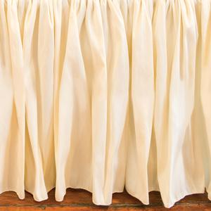 buttercup crib skirt