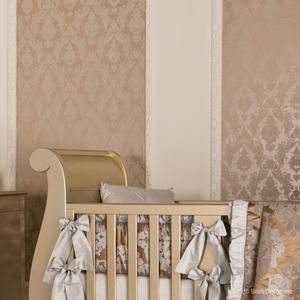 maiden wallpaper in textured bisque