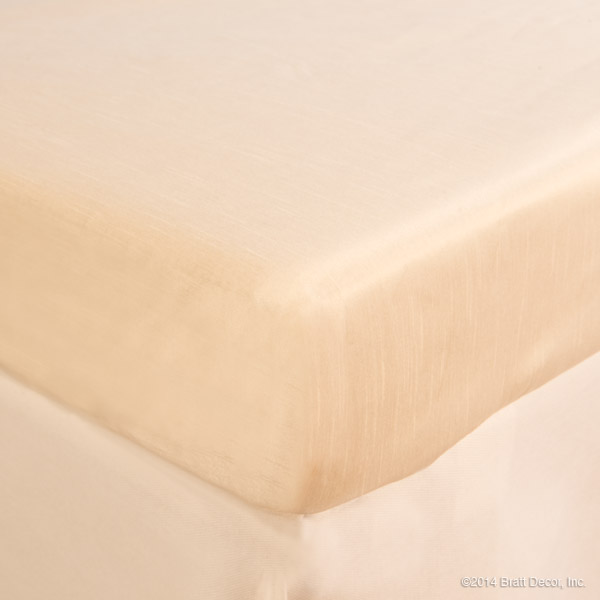 ivory cream faux silk neutral