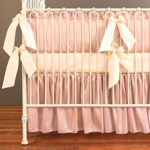 blush pink ivory cream faux