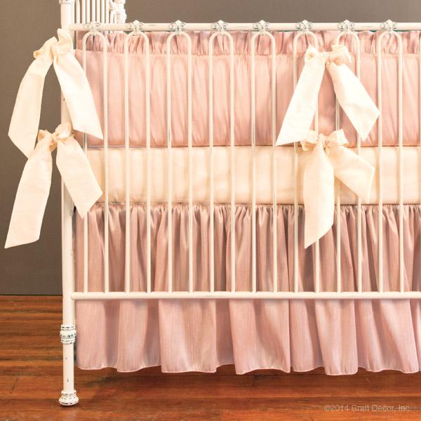 88 Ivory Crib Skirt