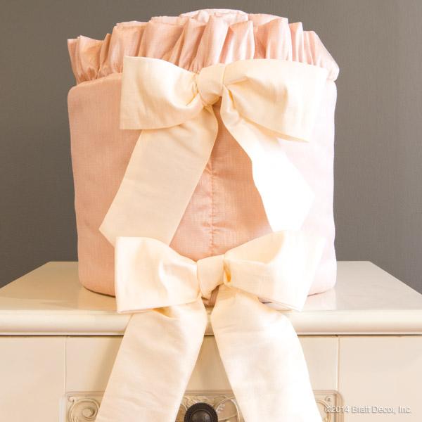 bella blush crib bedding
