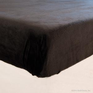 sheets black velour velvet minky