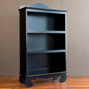 chelsea bookcase distressed black