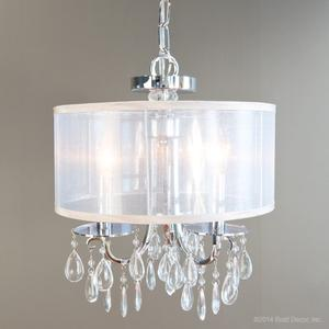 winchester chandelier - chrome