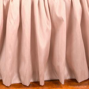 blush faux silk pink girl