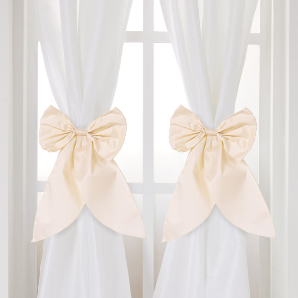 serafina white curtain panels set of 2