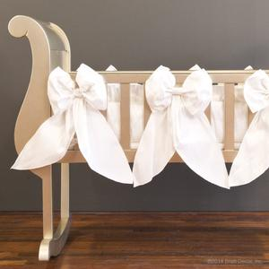 serafina 4 piece cradle set - white