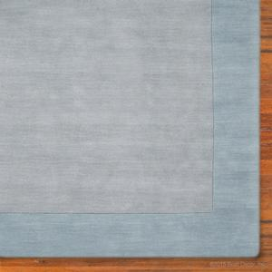 horizon rug - light blue